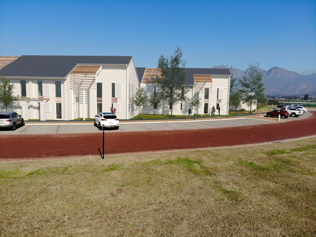 From R320 per m²   The Yard Offices at Val de Vie Estate
