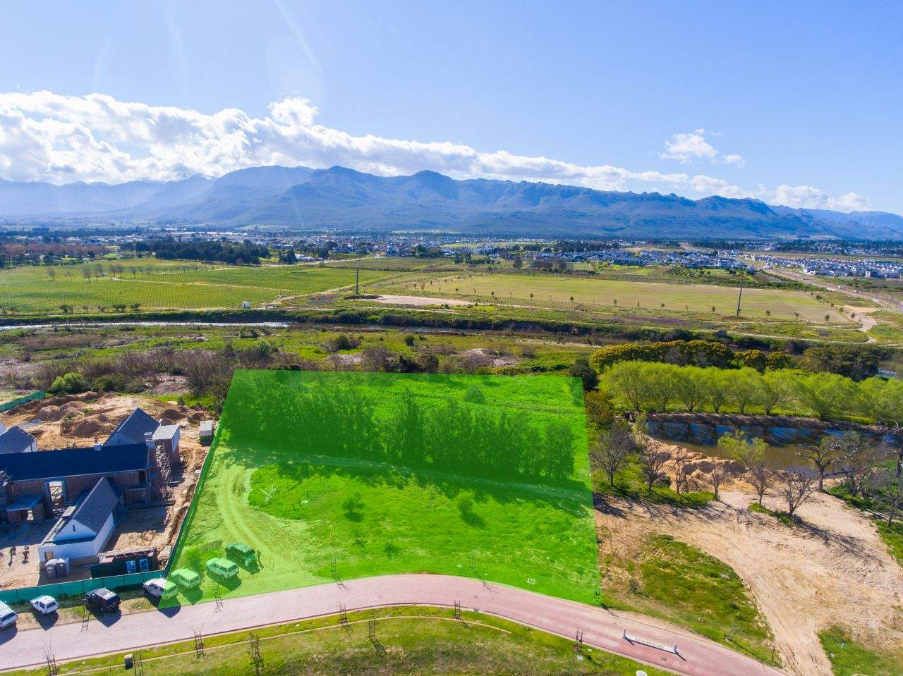 Exclusive river side stand available on Val de Vie Estate